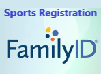The words Sports Registration above the Family ID logo